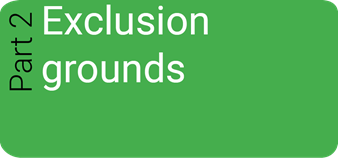 Part 2 - Selection Questionnaire Exclusion Grounds