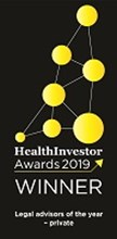 Health Investor Award winner 2019 Bevan Brittan