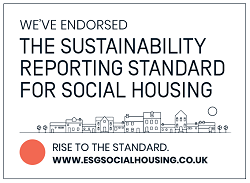 We've endorsed the Sustainability Reporting Standard for Social Housing